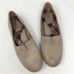 BORN | sebra in marmotta leather flat shoe